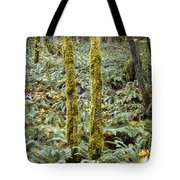 Ghostly Forest Tote Bag