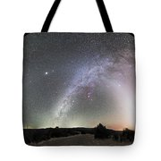 Ghostly Glows Of A Truly Dark Sky Tote Bag
