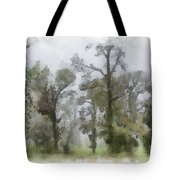 Ghostly Images Tote Bag