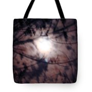 Ghostly Moon Tote Bag