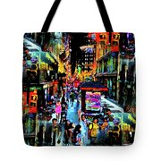 Ghostly Shopping Center Tote Bag
