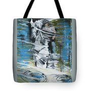 Ghostrider Reflection Tote Bag
