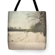 Ghosts And Shadows I Tote Bag