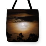 Ghosts Around The Moon Tote Bag