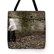 Ghosts In The Crypt Tote Bag
