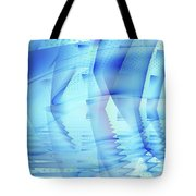 Ghosts In The Pool Tote Bag