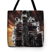 Ghosts Of Industy Past Tote Bag
