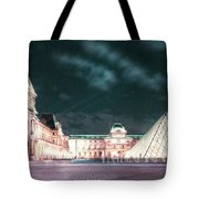 Ghosts Of The Louvre Museum 2  Art Tote Bag