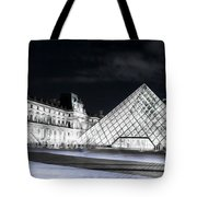 Ghosts Of The Louvre Museum  Art Tote Bag