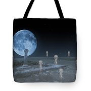 Ghosts On The Common Tote Bag