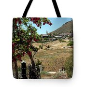 Ghosts Path To A Ghost Town Virginia City Nv Tote Bag