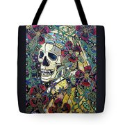 Ghoul With A Pearl Earring Tote Bag