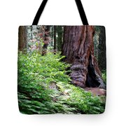 Giant Among The Forest Tote Bag