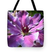 Giant Clematis Tote Bag
