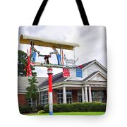 Giant Folk-art Weathervane 1 Tote Bag