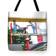 Giant Folk-art Weathervane 2 Tote Bag