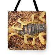 Giant Hairy Scorpion Tote Bag
