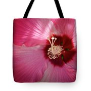 Giant Hibiscus Tote Bag