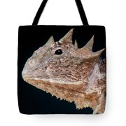 Giant Horned Lizard Tote Bag