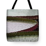 Giant Lilly Pads Tote Bag