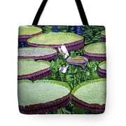 Giant Lily Tote Bag