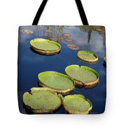 Giant Lily Pads Tote Bag