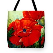Giant Poppies 3 Tote Bag