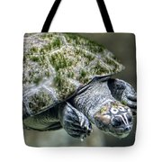 Giant River Turtle Tote Bag