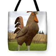 Giant Rooster Tote Bag