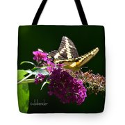 Giant Swallowtail Butterfly Tote Bag