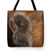 Gibbon Tote Bag