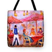 Gibbys Cafe Tote Bag