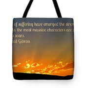 Gibran On The Character Of The Soul Tote Bag