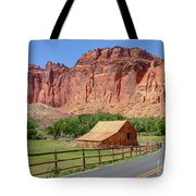 Gifford Homestead Barn - Capitol Reef National Park Tote Bag