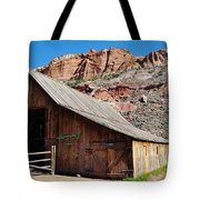 Gifford Homestead Capitol Reef National Park Tote Bag