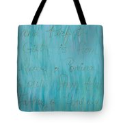 Gift From Above Tote Bag