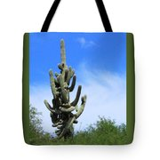Gigantea Saguaro Old And Strong Tote Bag