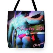 #gigantesf #latinhiphop @friscorobbie Tote Bag by Mr Photojimsf