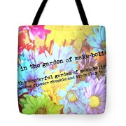 Giggle Patch Quote Tote Bag
