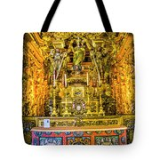 Gilded Chapel Tote Bag