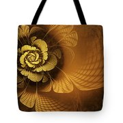 Gilded Flower Tote Bag by John Edwards