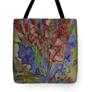 Gilded Flowers Tote Bag