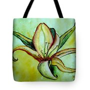 Gilded Lily Tote Bag