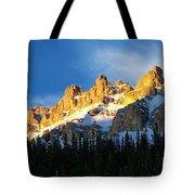 Gilded Ridge Tote Bag