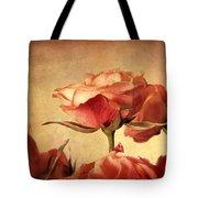 Gilded Roses Tote Bag