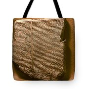 Gilgamesh, 7th Century B.c Tote Bag