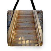 Gilpin County Museum Stairs Tote Bag