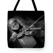 Gilrs And  Music Tote Bag