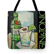 Gin And Tonic Poster Tote Bag