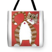 Ginger Cat Butt Tote Bag